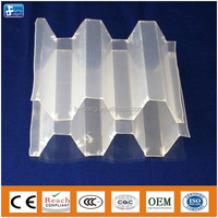 Hexagonal honeycomb packing tube settler for water treatment