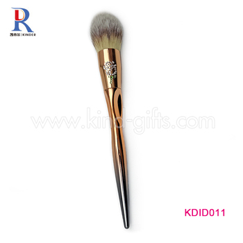 Glitter White Diamond Vanity Girl Favors Professional Cosmetic Brush Custom Abrasive Makeup Brushes