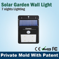 PIR motion Low price mini solar panel,plastic mini solar lights