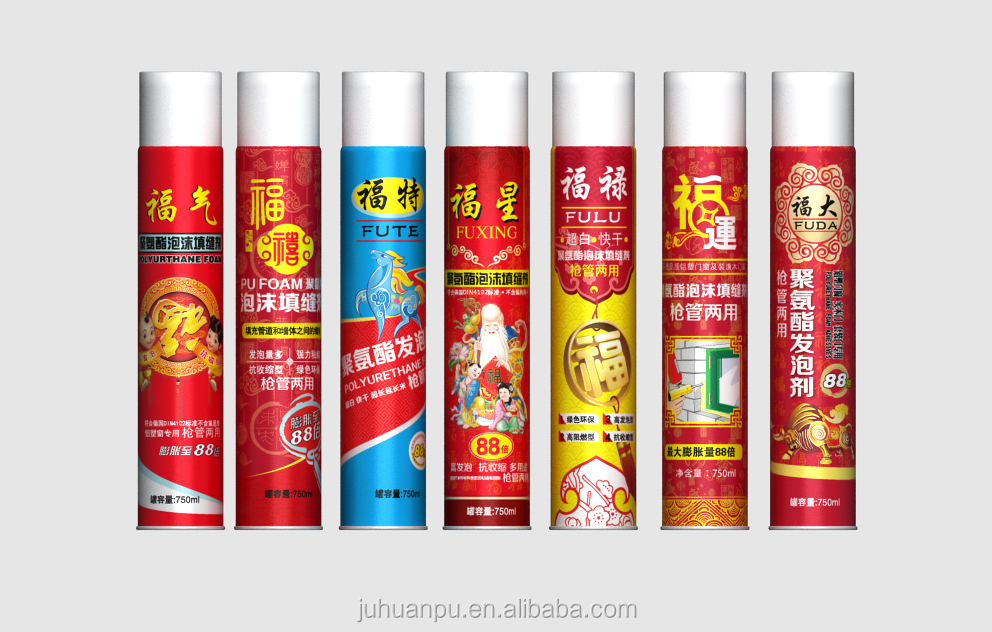 construction pu sealant large expandion spray pu foam