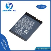 High quality Real Capacity OEM 900mah Mobile phone battery for BL-5BT Battery For Nokia