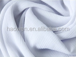 100% polyester Textile Soft and Thin Crepe Chiffon
