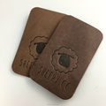 Customized Embossed Fake Leather Patch
