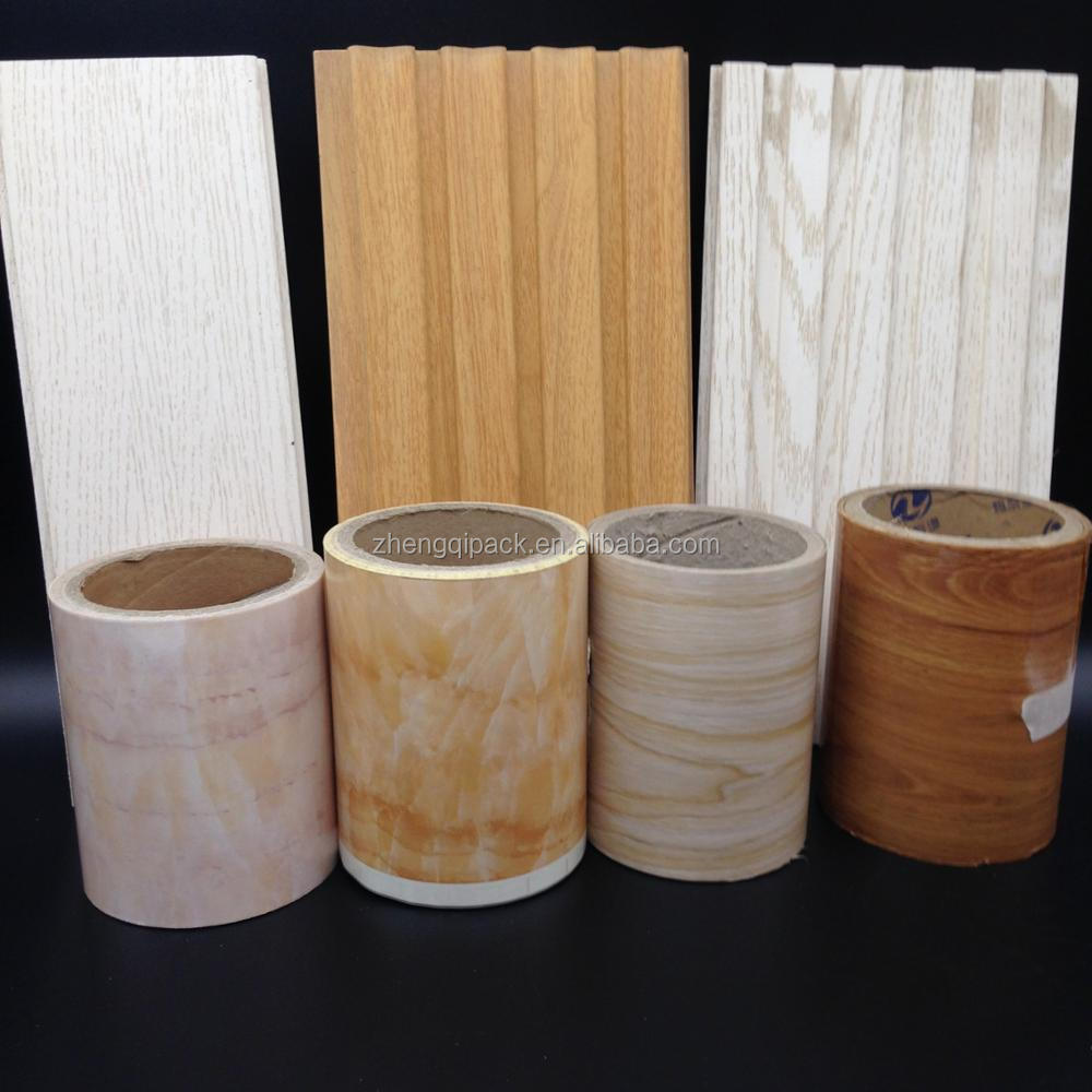 Marble ,Wood grain pattern Hot Stamping Foil For MDF WPC PVC Plastic Floor