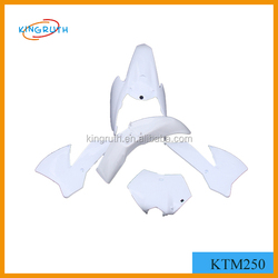 KTM250 ABS Plastic Fairing dirt bike pit bike motorcycle plastic parts