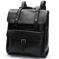 Yiwu New Trend Product Original Design PU Leather Material Autumn Winter Men Stylish Backpacks Waterproof Best Sell Backpack