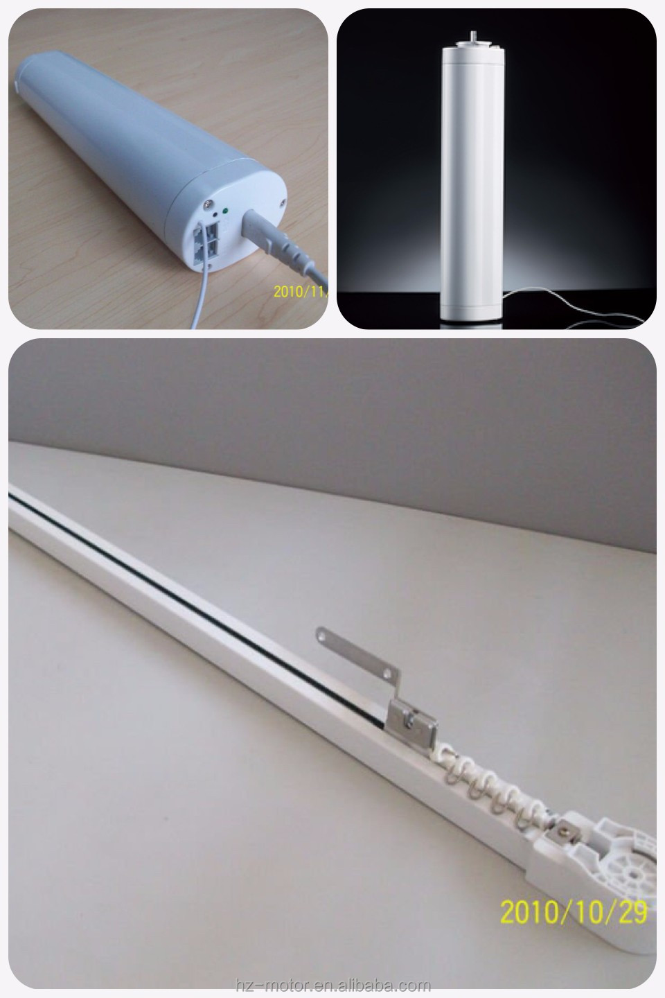 aluminium ceiling mount curtain track, double hotel curtain track