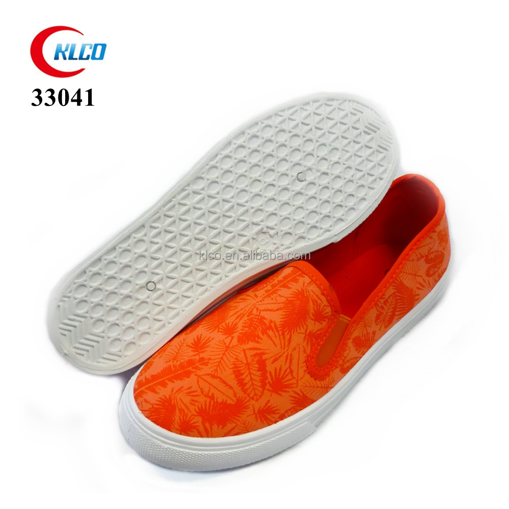latest 2017 ladies new model custom canvas shoes