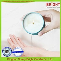 Massage Soy Wax Candle In Printed Tin With Luxury Box