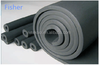 Colored rubber foam insulation tube pipe for air conditioner