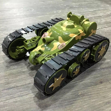 RC Transform Tank for kids Transformation Toys for sale With Light RC Tank For Sale