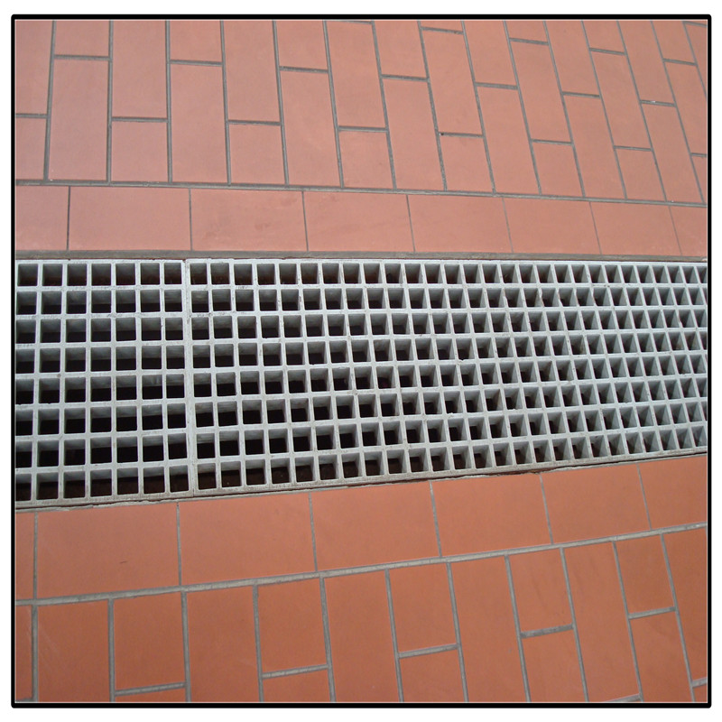 High strenght anti-corrosion FRP drain grating