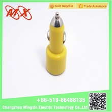 hot colorful CE 5V 2.1A single usb car charger car mobile charger/tablet pc/MP4