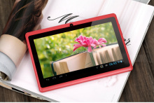 Best selling 7 inch Q88 wifi multi touch tablet Android pc wifi factory in stock prices free shipping