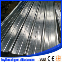 galvanized zinc-coating corrugated roofing steel sheet material