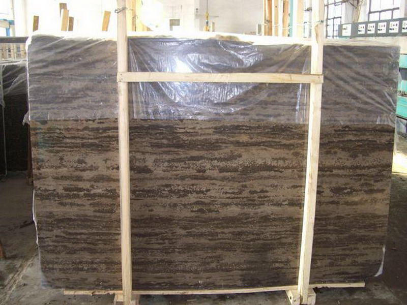 Professional Biggest Factory Brown Golden Beach Marble