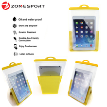 2016 New products colorful customized Kitchen clear PVC waterproof bag for iPad mini