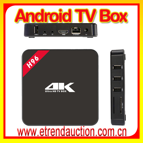 Arabic French Europe UK IPTV 1700 Channels Android Set Top Box USB TV Dongle Android 5.1 H96 Set Top Box