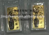 pure gold bar/bullion --custom make