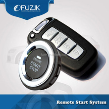Car Remote Start Auto Ignition System Smart Key Holder Security Alarm System for Hyundai IX25 IX35