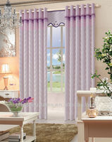 latest curtain fashion designs fabric jacquard fabric curtain soft
