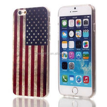 Retro flag IMD case for iphone 6, Flag tpu cover for iphone 6 4.7inch
