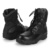 Rubber Sole Material and Genuine Leather Upper Material Non slip Military Black Delta Boots