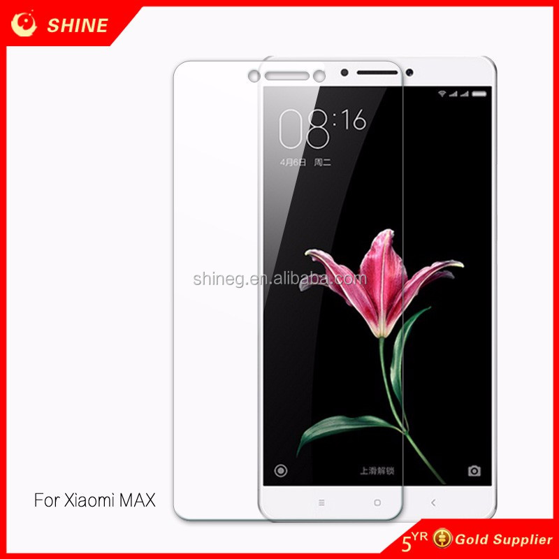 2.5D top quality transparent tempered glass screen protector sheet for redmi note 4/mi mobile phone/glass mobile