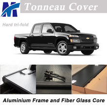 Pickup tonneau cover fiberglass truck beds for Chevrolet Colorado GMC Canyon 6'-1 Bed