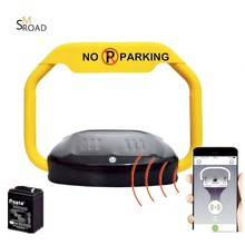 APP LOCK PRIVATE LOCK battery powered Remote Control automatic barrier car space parking lock