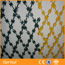 Military 450mm Coil Diameter Concertina Razor Barbed Wire Mesh Fence