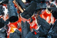 Hardwood Lump Charcoal for Churrascaria and Restaurant Burns Extremely Hot No ashes or Sparks