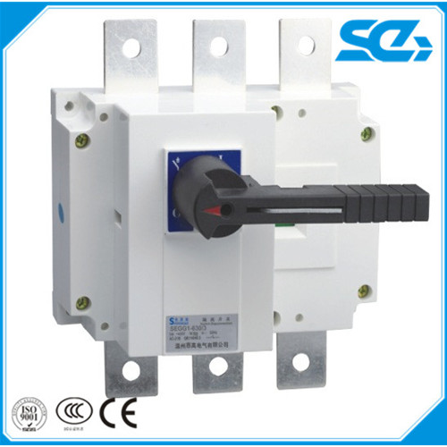 Indoor Outdoor Electric 3P 4P AC DC Battery Load Isolator switch Disconnect Switch 220V 1000V 100A 160A 250A 400A 630A 1600A