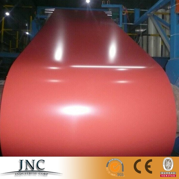 Color coated steel coils PPGI for roofing building supply made in Shandong