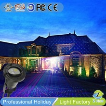 Christmas Projector full color RGB 300mw laser light