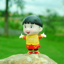 Xinzhida promotional gift OEM vinyl lucky boy action figure toy product