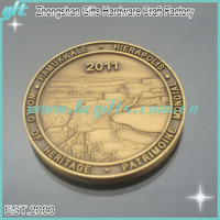 Free shipping high quality custom challenge coin identification