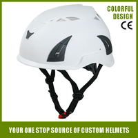 CE EN397 abs shell colorful Tower Climbing construction safety helmet