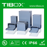 TIBOX Electrical enclosure/IP55 protection grade/Aluminum device case/Electronic control box
