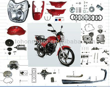 Italika Loncin motorcycle parts for FT150, OEM Quality