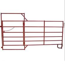 Professional Manufacturer two steel corral panels with loop legs - horse corral panels
