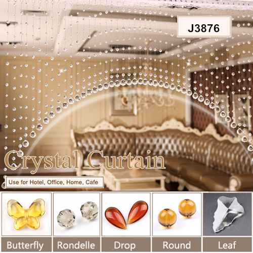wholesale handmade crystal beaded turkish decorative beads curtains