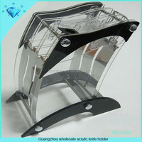 Guangzhou wholesale acrylic knife holder