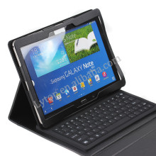 Fashion Folio Tablet Leather Case USB Keyboard Case For Samsung Galaxy Note 10.1 P600