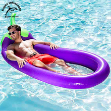 Inflatable Pool Float Mesh Lounge Mattress