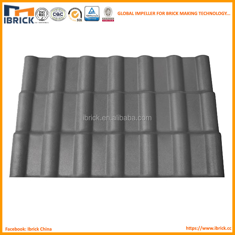 houses curved roof tile two-way equilibrium temperature for house decoration