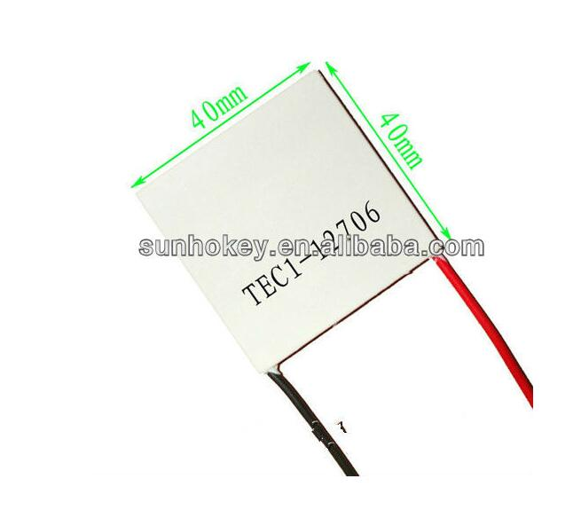 Electronic Components TEC1-12706 12V 6A 60W TEC Thermoelectric Cooler Peltier