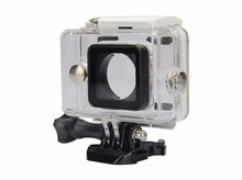 Waterproof Underwater Dustproof Swimming Diving Snorkeling Protective Housing Hard Shell for Xiaomi Yi Action Sports Camera