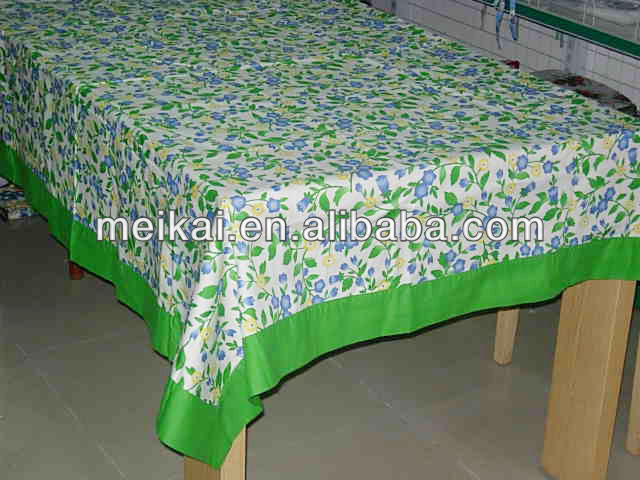 Colourful cotton tablecloth