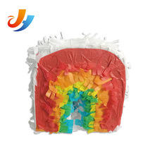 Boys birthday party themes supplies material custom pinatas rainbow
